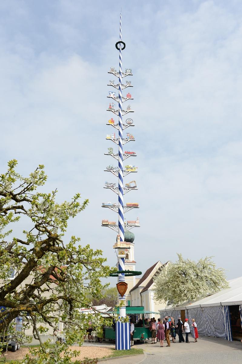 Der Maibaum in Haunswies